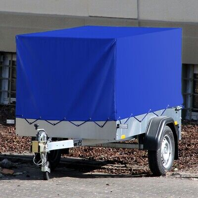 High side trailer cover tarpaulin waterproof high cover blue 2075x1150x900mm