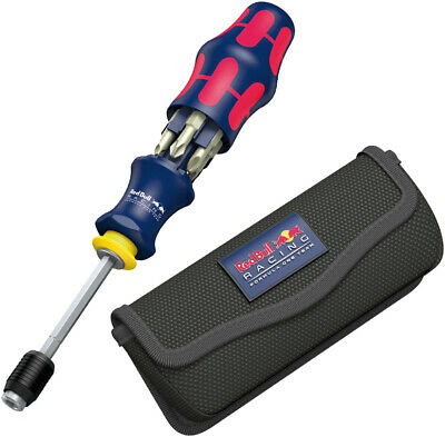 Wera Red Bull Racing 7pc Kraftform Kompakt 20 with pouch Stainless 7-piece