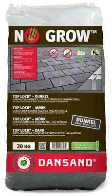 Fugenmaterial TOP LOCK NO GROW Dansand 3-10mm 20 kg dunkel