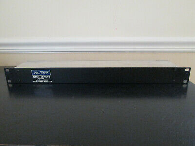 Cable Tronix CTMS-16RKPS 16 Way Multiswitch Rack Mount
