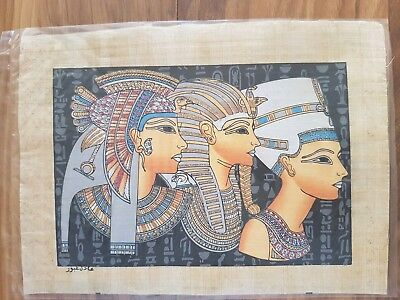 Glow in the Dark Egyptian Papyrus Print - Design 06 - (A4 Size - 33cm X 24cm)