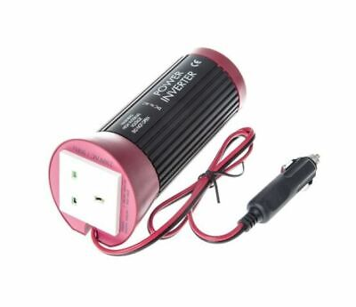 100W DC-AC Car / Van Power Inverter, 12V dc / 230V ac - UK 13A & Schuko Socket O