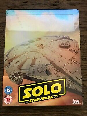 Solo : A Star Wars Story - Uk Zavvi Exclusive 3D + 2D Blu Ray Steelbook