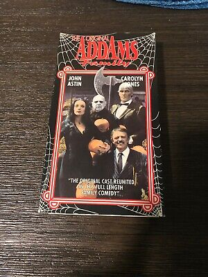 Halloween With The Original Addams Family Vhs Carolyn Jones John Astin Tv Horror
