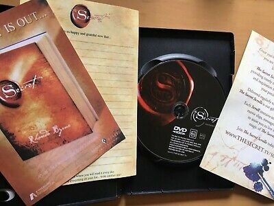 THE SECRET DVD - by Rhonda Byrne,  Free 1st Class Post.