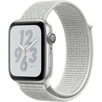 Apple Watch Series 4 Nike+ 44 mm Silver Aluminum Case with extra bands