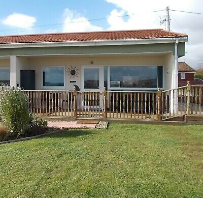 Norfolk Chalet Holiday 27/07/19 for 7 nights Dogs Welcome Sleeps 4 Bacton