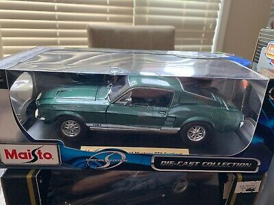 Maisto~1967 Ford Mustang Gta Fastback~Die Cast~Special Edition~ 1:18Th Scale