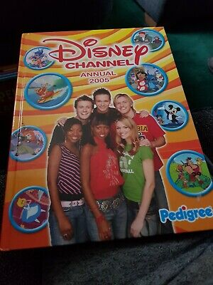 Disney Channel Annual 2005 X VERY GOOD CONDITION FOR AGE X VERY RARE X 2605 X