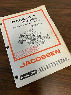 JACOBSEN TURFCAT 2 II DW 224 DW224 OutFront Rotary Mower ... on