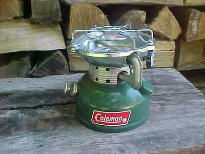 2 VINTAGE COLEMAN 502 Single Burner Stoves For Parts Repair
