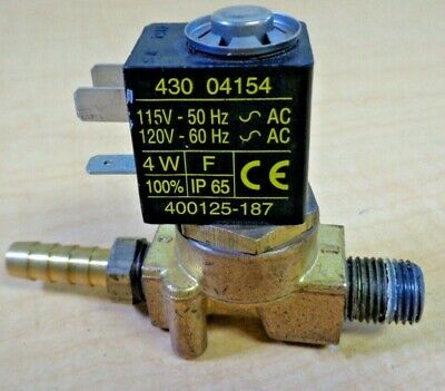 Automatic Switch Co. HU2622941 430 04154 400125-187 Solenoid Valve Switch M6