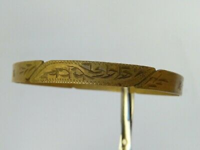 Rare Ancient Viking Bracelets Bronze Artifact Authentic Stunning