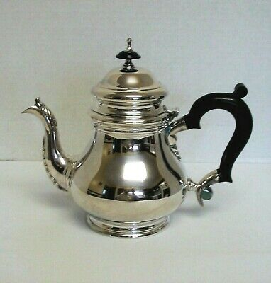 CROSBY Silverplate Teapot ~ 1 Quart ~ Nice