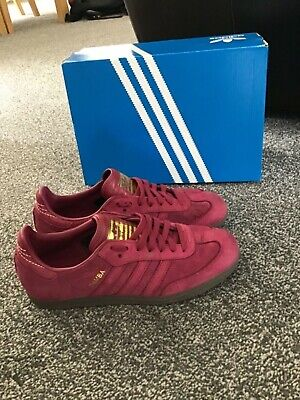 ❤ BNWB & Genuine Adidas Originals ® Bermuda Red Suede Retro