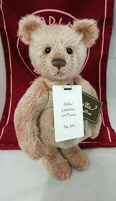SPECIAL OFFER! 2018 Charlie Bears Isabelle Mohair ARTHUR (No 253/275) RRP £125