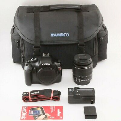 Canon EOS Rebel T3 Digital Camera With EFS 18-55mm IS II Lens - Free Shipping