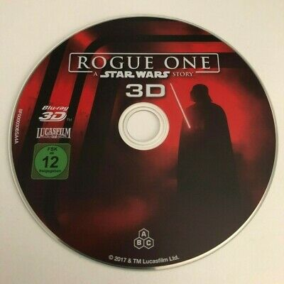 Star Wars Rogue One aus Steelbook  / 3D Disk / Bluray / Neuwertig / Deutsch
