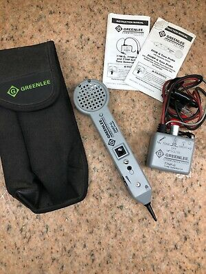 Greenlee Communications 200EP-G Tone Probe w/ 77HP-G Tone Generator
