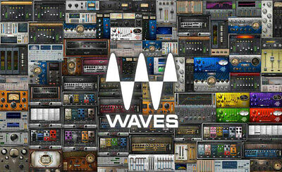 Waves Audio Plugin Effect Bundle Transfer CLA-2A PuigTec Vitamin Rvox +MORE!