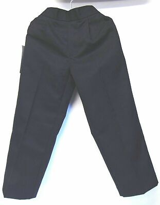 Winterbottom Boys Pull-Up School Trouser Navy Age 4 Years Elasticated Waist New