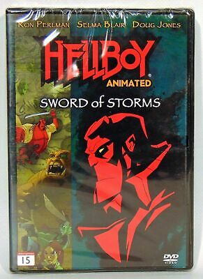 Hellboy Animated Sword of Storms DVD Danish Market Release Hell boy