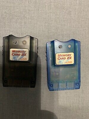 PlayStation Double Memory Cards