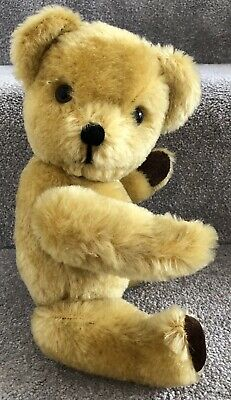 Vintage Deans Or Similar Teddy Bear Mohair British Jointed