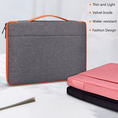 Universal Sleeve Case Notebook Cover Bag Laptop For MacBook HP Dell Lenovo