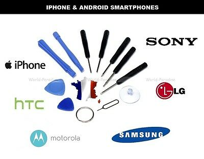 NEW Repair tools opening réparation APPLE iPhone / Android phone Sony LG Samsung