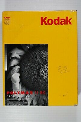Kodak Polymax II RC 8 x 10 B & W Photo Paper N Surface 200 Sheets  New Old Stock