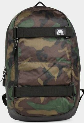 e096340228e3 Nike SB Courthouse Camo Skate LAPTOP Backpack Sports Travel Bag Rucksack  SALE!