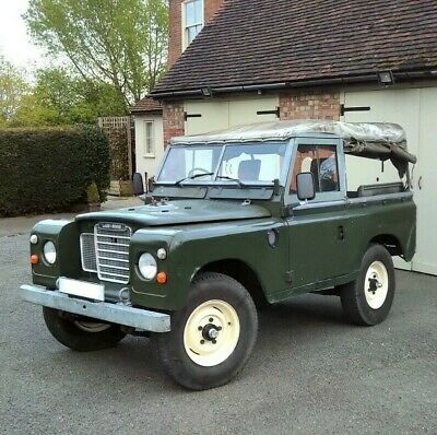 "Land Rover Series 3 SWB 88"" 2.25 Petrol with Overdrive - RE-LISTED"