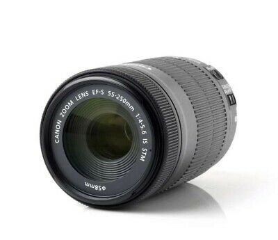 Canon EF-S 55-250mm f/4-5.6 IS Zoom Lens for EOS DSLR Camera
