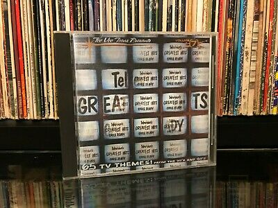 Televisions Greatest Hits Volume 7 Cable Ready CD 1996 TVT Theme Songs Jingles