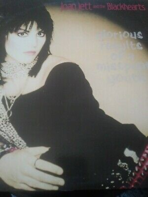 """Joan Jett & The Blackhearts - """"Glorious Results Of A Misspent Youth"""" - 1984 Lp!*"""
