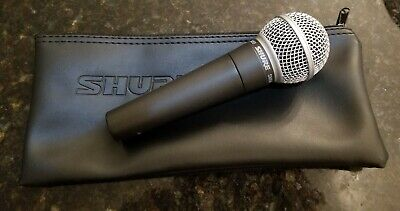 Shure SM58S Dynamic Microphone with Soft Case - Gently Used - Works Great