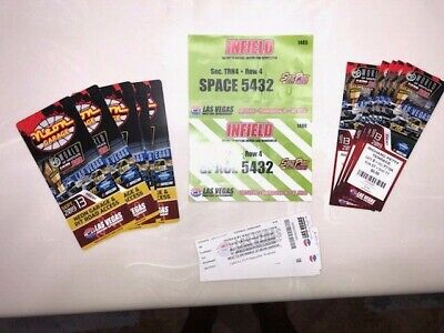 LVMS NASCAR Infield RV Row 4 Space 5432