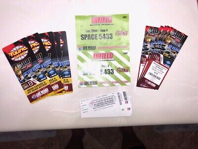 LVMS NASCAR Infield RV Row 4 Space 5433