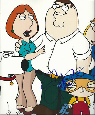 """Seth Macfarlane Family Guy Supersized 14"""" X 11"""" In-Person Hand Signed Photo"""
