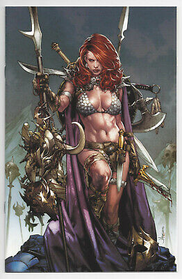 Red Sonja Birth Of The She-Devil 1 Jay Anacleto Virgin Variant Conan Dynamite