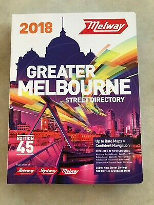 2018 Greater Melbourne Melways (Edition 45)