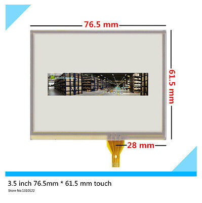 """3.5/"""" Touch Screen Panel 77*64mm 77mm*64mm For TM035KDH03"""