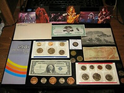 Big Coin Lot MINT SET LOT Silver SUSAN B DollarS  Silver Cert Copper Lot KISS