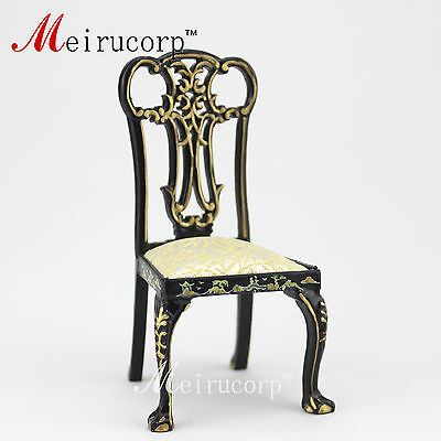"""ORNATE /""""LION/"""" CHAIR 1:12 SCALE DOLLHOUSE MINIATURES Heirloom Collection"""