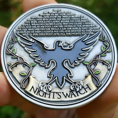 Game of Thrones Night's Watch Poker Card Guard Golf Marker Coin Chip Protector