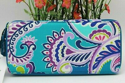 Vera Bradley Large Travel Pill Case Waikiki Paisley