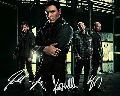 Breaking Benjamin Band Autographed Reprint Signed 8x10 Photo Poster Print