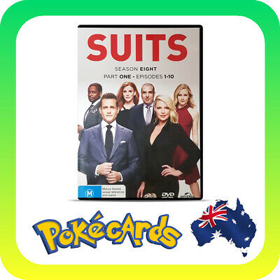 Suits : Season 8 : Part 1 (DVD, 2018, 2-Disc Set)