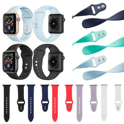 Sport Bracelet Silicone Strap Watch Band For Apple Watch Series 4 3 2 1 iWatch